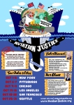 Aviation Justice Express ship poster