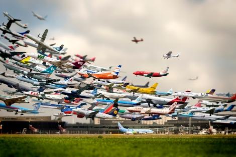 Aviation + climate change artist Ho-YeolRyu